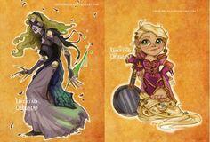 Les princesses Disney revisitées à la sauce World of Warcraft