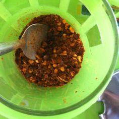 Por cierto, el chile es increíblemente aromático y afrutado // Btw, chilli is extremely fruity and fragant