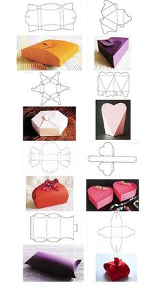 New Diy Manualidades Gift Ideas Navidad Ideas Paper Gift Box, Diy Gift Box, Diy Box, Paper Gifts, Gift Boxes, Paper Crafts Origami, Origami Box, Diy Paper, Diy Crafts Hacks