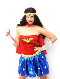 There is nothing to wonder about in our Wonder Woman costume! POW! http://www.costumecollection.com.au/superhero-and-villain-costumes/wonder-woman-costumes/adult-official-wonder-woman-costume.html