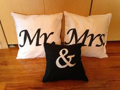 Create Imagine Dream: Mr. & Mrs. Pillows