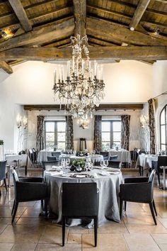 Salle du restaurant gastronomique Le Gourmet