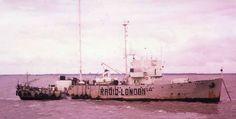 Wonderful Radio London (Big L) broadcasting from the MV Galaxy off the Essex coast 1964