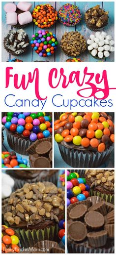 Cupcake recipes for kids and adults cupcake decorations | cupcake ideas | candy bar ideas | dessert ideas | easy desserts | cupcake DIY #cupcakes #fun #partyfood #candy #kids