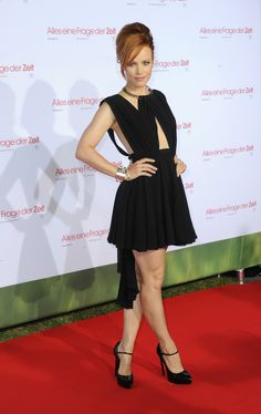 Rachel attends the premiere of About Time in Munich, Germany.