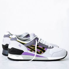 Asics Gel-Respector OG - Aster Purple from Jiberish. Saved to Wardrobe Goals ! Night Looks, Aster, Purple, Sneakers, Shoes, Fashion, Tennis Sneakers, Sneaker, Zapatos