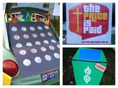 """Photo Taking Farm Girl: Trunk or Treat """"Price is Right"""""""