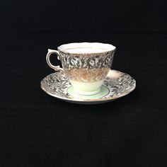 A personal favorite from my Etsy shop https://www.etsy.com/ca/listing/258012497/englush-teacup-colclough-china-mint