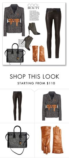 """A bit naughty tweed"" by dragonflylt ❤ liked on Polyvore featuring rag & bone, Tom Ford, Yves Saint Laurent, Saks Fifth Avenue Collection and Lanvin"