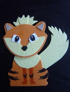 Gotta Craft Them All challenge dag 60: #Growlithe  #pokemon https://www.facebook.com/Lysettes.stampin.universe/