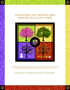 Hospice #volunteers help patients and families focus on living
