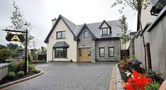 Best house plans ireland story and a half ideas Square House Plans, Metal House Plans, Best House Plans, House Floor Plans, House Designs Ireland, Houses In Ireland, Ireland Homes, Style At Home, Dormer Bungalow