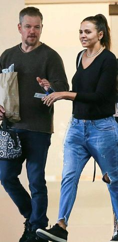 Matt Damon, Celebrity Couples, Celebrities, Fashion, Moda, Celebs, Fashion Styles, Fashion Illustrations, Celebrity