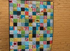 Another boys Echino quilt