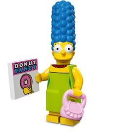 Lego Minifigures Simpsons Serie 1: Marge Simpson