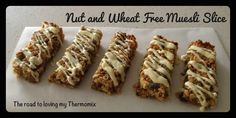 The road to loving my Thermomix: Nut and Wheat Free Muesli Slice: Recipe Community