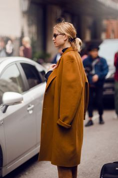Street Style  | statement coat | musthave | camel coat