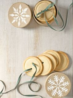 Sugar-Cookie Buttons | 16 Homemade Food Gifts - Yahoo Shine
