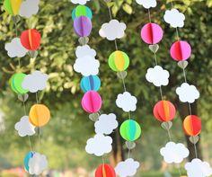 Do arco íris guirlanda de papel, Quebra bolo, Foto prop, Chá de bebê, Gênero neutro, Do arco íris Party Decor em Decoração de festa de Casa & jardim no AliExpress.com | Alibaba Group