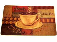 One Glance At This Kitchen Cushion Mat Will Have You Craving Your Favorite Cup Of Coffee