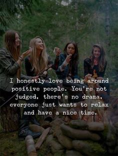 Positive Quotes : I honestly love being around positive people. - Hall Of Quotes Life Quotes Love, Bff Quotes, Best Friend Quotes, True Quotes, Motivational Quotes, Inspirational Quotes, Success Quotes, Happy Friendship Quotes, Nice Person Quotes