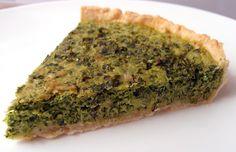 Milk and Honey: Spinach Tart