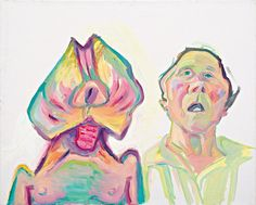 Maria Lassnig, Two Ways of Being (Double Self-portrait), 2000
