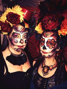 #diadelosmuertos makeup - Day of the Dead #sugarskull Makeup by Shawna at Sugar Face and Body painting. Dia de los muertos