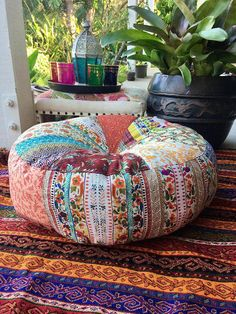 Unfilled Medium Moroccan Style Floor Cushion Cover e41be391af9