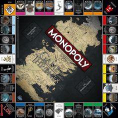 #Monopoly #GameofThrones #Daenerys #Targaryen #Dragons #CollectorsEdition #Winterfell #Stark #Lannister