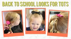 3 Easy Back to School Hairstyles for Toddlers