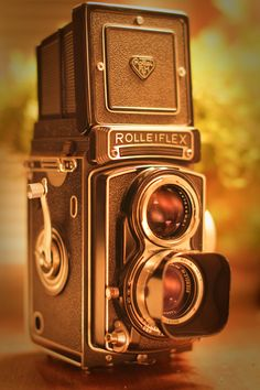 Classic Rolleiflex from the 1960's