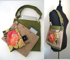 messenger laptop bag crossbody bag school bag carry by daphnenen