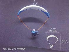 Mini Glider Paragliding White & Blue Fly Inspired By Niviuk _ 3 Hang Gliding, Paragliding, Gliders, Headphones, Mini, Inspiration, Ebay, Blue Fly, Inspired