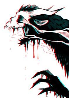 character art SLEEP, SWEET SOUL i wonder if belial has a final form and what it. Creepy Drawings, Creepy Art, Art Drawings, Wall Drawing, Monster Art, Monster Concept Art, Arte Horror, Horror Art, Dark Fantasy Art