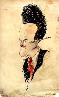 Ub Iwerks drawing by Grim Natwick. (Collection of Stephen Worth.)