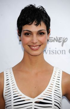 Morena Baccarin Boy Cut - Short Hairstyles Lookbook - StyleBistro