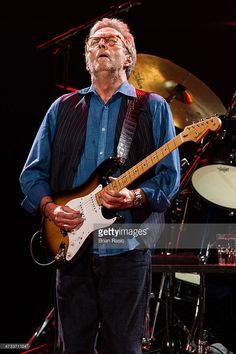 Eric Clapton performs live on stage at Royal Albert Hall on May 14, 2015 in London, England.