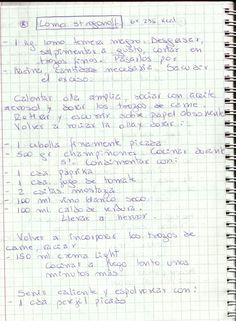 LOMO STROGONOFF   #SALADO #PLATOS #CARNE #VACUNO