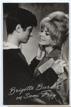 Brigitte Bardot et Samy Frey dans La Vérité.