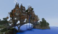 100 Best Minecraft Steampunk Images In 2020 Minecraft