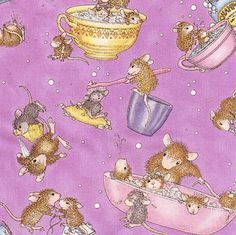 Love the House Mouse by Quilting Treasures.