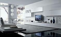 sala minimalista decoración