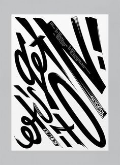 Typographic poster design by Felix Pfäffli Cool Typography, Typography Letters, Graphic Design Typography, Typography Inspiration, Graphic Design Inspiration, Photoshop, Type Posters, Graphic Posters, Plakat Design