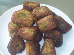 Homemade Falafel This looks good and different.
