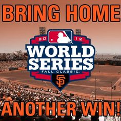 2012 World Series Giants 2012 World Series, San Francisco Giants, Dodgers, Football Team, Bring It On, Baseball, Classic, Sports, St Cardinals