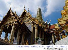 """The Grand Palace, Bangkok, Thailand.  #1 """"Must see"""" site in Bangkok! Amazing."""