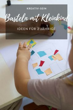 Basteln mit Kleinkind Crafting with toddler – easy and simple ideas for 2 year olds. Colorful house and colorful birds made of cardboard – creative DIY for children. Diy For Kids, Crafts For Kids, Carton Diy, Diy Y Manualidades, Good Day Sunshine, Sharpie Crafts, Resin Crafts, Diy Crafts To Do, Stick Crafts