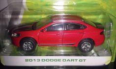 GREENLIGHT MOTOR WORLD AMERICAN EDITION  2013 DODGE DART GT  (RED) #Greenlight #Dodge