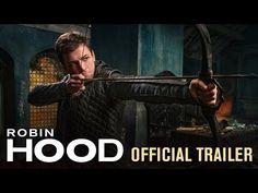 Robin Hood (2018) - Official Trailer - Jamie Dornan, Taron Egerton